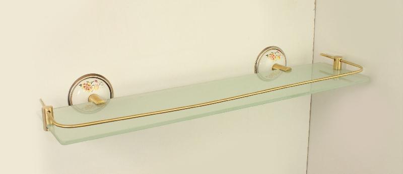 етажерка за баня с протектор антик