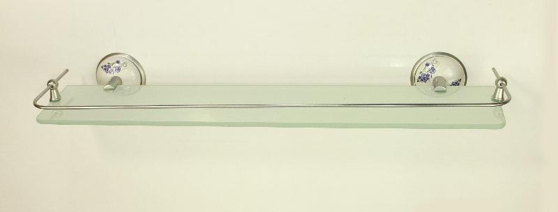 етажера за баня хром/сатен с протектор