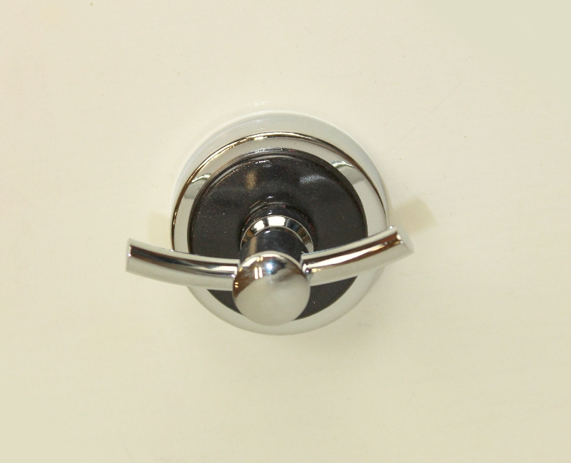 закачалка за баня 2-на черно