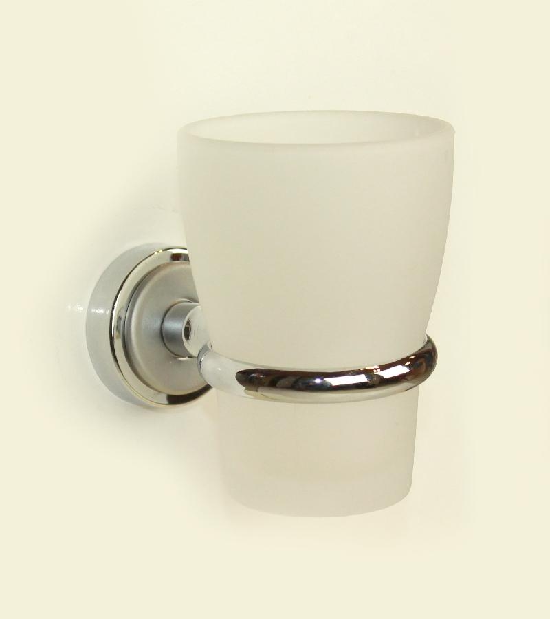 чаша за зъбни четки стъкло цвят