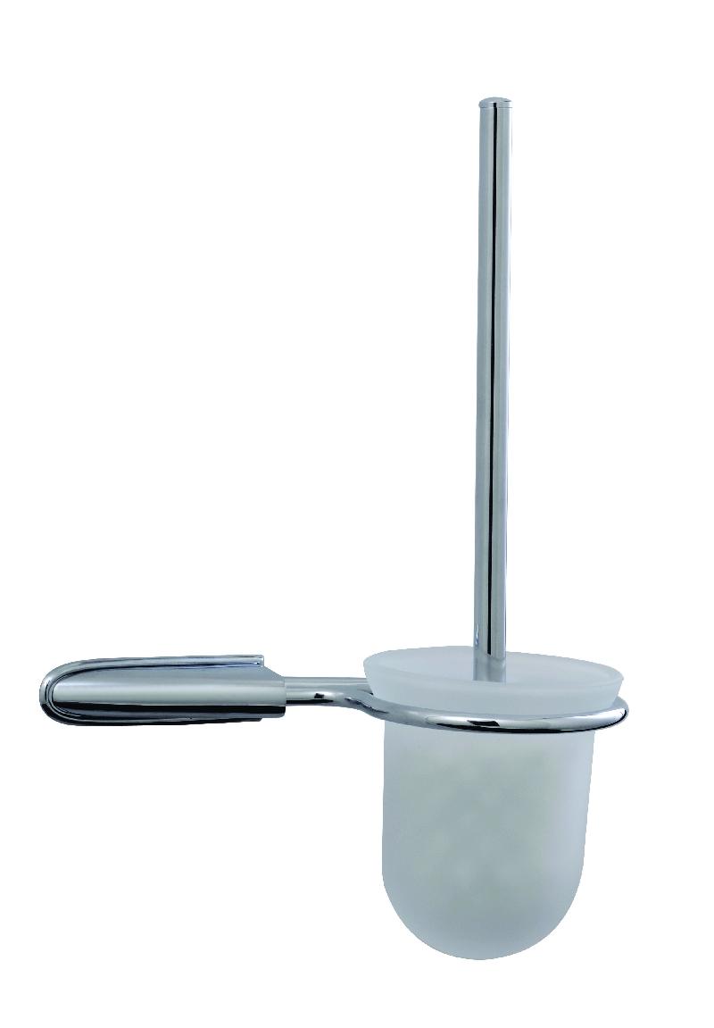 тоалетна четка стенна масивен месинг лукс