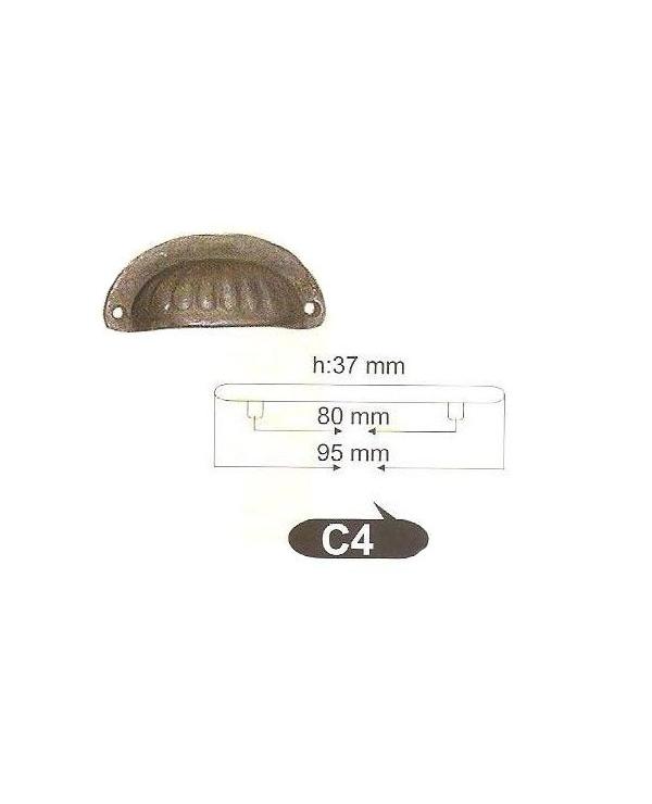Мебелни дръжки от месинг C 4