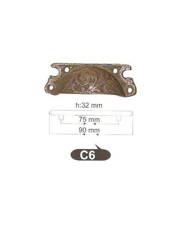 Мебелни дръжки от месинг C6РАЗПРОДАЖБА - 50%