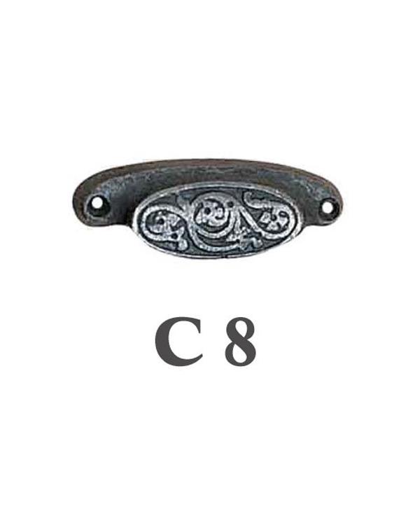 Мебелни дръжки от месинг C 8 РАЗПРОДАЖБА-50%