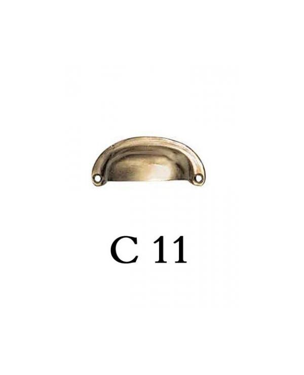 Дръжки за мебели месинг C11РАЗПРОДАЖБА-50%