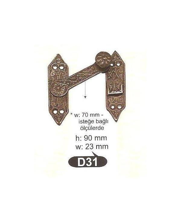 D 31 резе,матер.месинг-оксит,антик ЛИКВИДАЦИЯ-50%