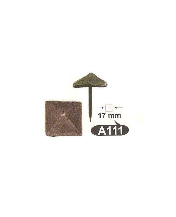 A 111,кабари за мебели и врати 15 X 15mm месинг-ЛИКВИДАЦИЯ-40%