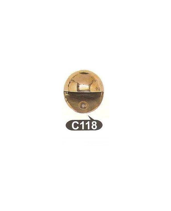 C 118 Стопер за под,матер.месинг