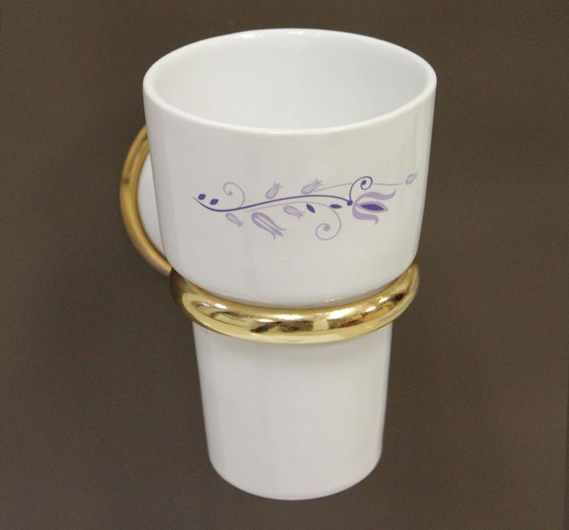 чаша за зъбни четки стъкло