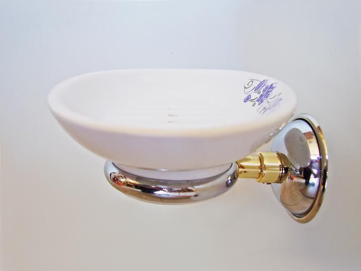 сапунека хром злато стъкло