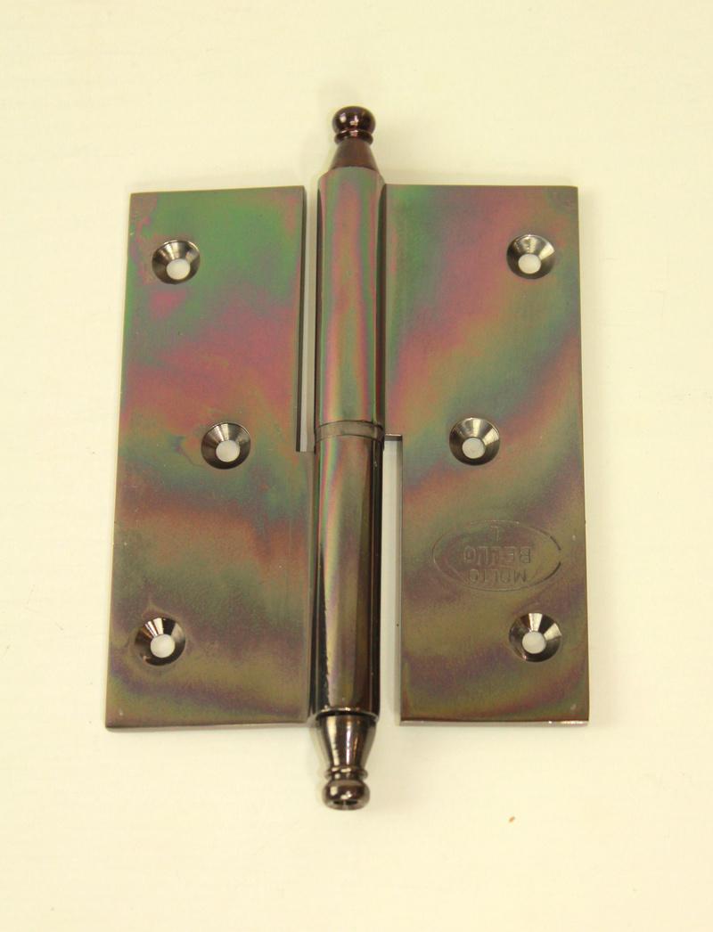 Луксозни панти от месинг,цвят черен никел