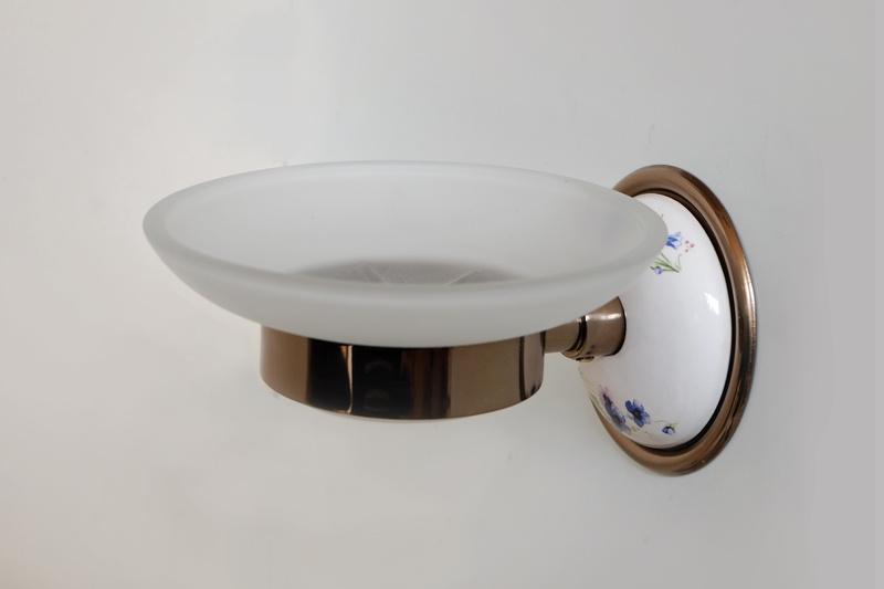 Стъклена сапунера