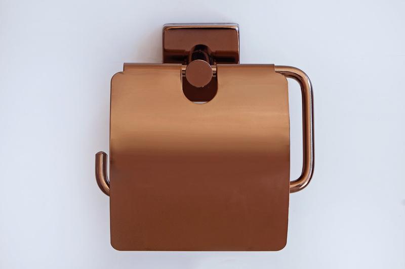 държач на тоалетна хартия червено злато