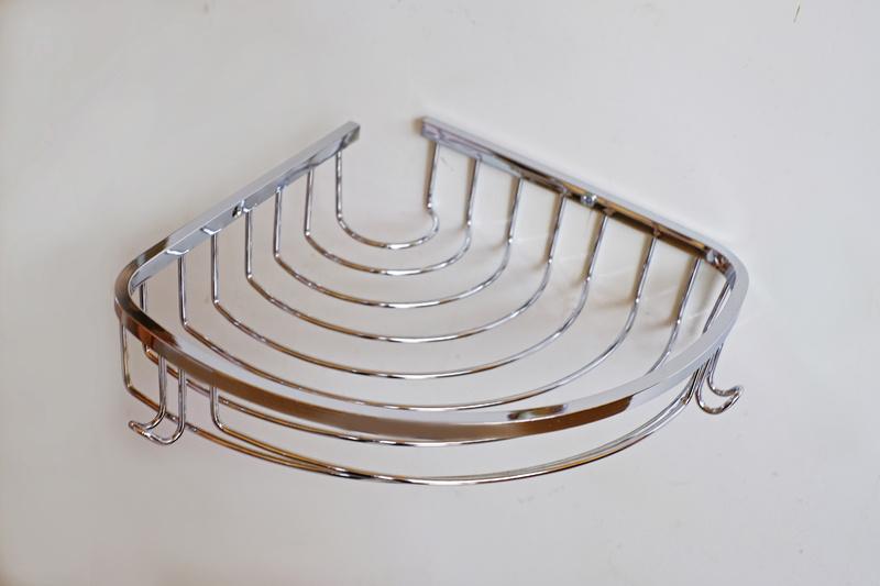 Етажерка-месинг1-на хром овал-закачалки, с обков