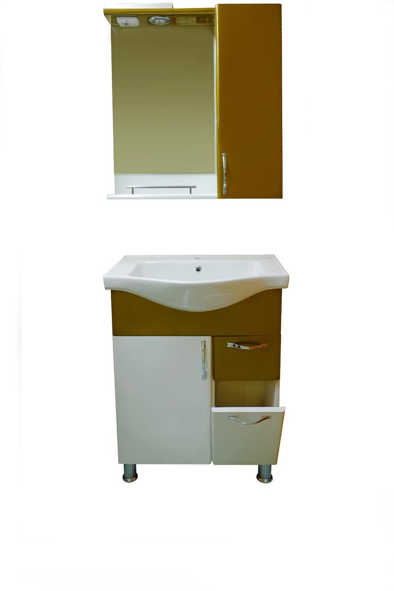 Шкаф за баня PVC68см4к.старо злато РАЗПРОДАЖБА