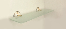 Болеро-етажера за баня старо злато