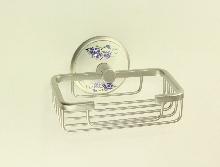Аксесоари за баня порцелан,мрежеста сапунера каре