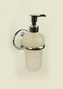 Аксесоари за баня порцелан,държ. на доз. за течен сапун