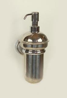 дозатор за течен сапун инокс и месинг цветни