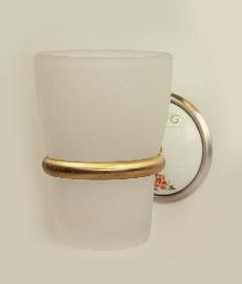 чаша за зъбни четки стъкло антик
