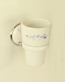 Държ. на чаша за зъбни четки порц.десен код 108