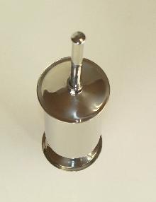 Тоалетна четка,код 33030 пристиж хром-мат, с пиедестал