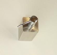 Дозатор за течен сапун 44075 хром -  много масивен