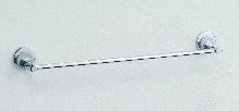 кърподържател пръчка от месинг хром сатен