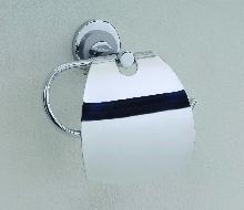 Аксесоари за баня месинг,държач на тоал. хартия с капак