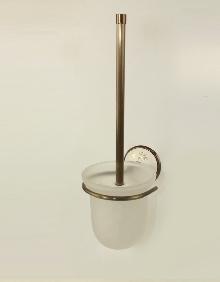 Аксесоари за баня порцелан,държач на тоал. четка стъкло