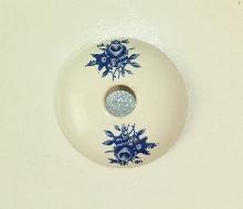 Аксесоари за баня порцелан,розетка десен код 183