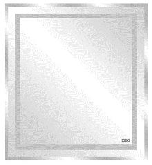 Огледала за баня, кристални, м-л АРБАТ 60х60см