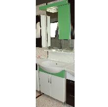 Мебели за баня PVC цени 68см.STD д.зелен РАЗПРОДАЖБА