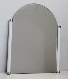 Огледала за баня,кристални,СЕРЕНА месинг.рамка 50х59см