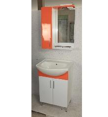 Мебели за баня PVC цени 55см.к. оранж РАЗПРОДАЖБА