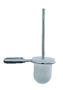 Аксесоари за баня месинг,държач на тоал. четка стъкло