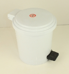 Тоалетни кошчета-материал ABS 10л с педал