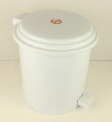 Тоалетни кошчета материал ABS 16л. с педал