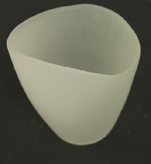 Стъкло за стенен аплик тип лале