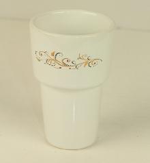 Чаша за зъбни четки порц.десен код 165