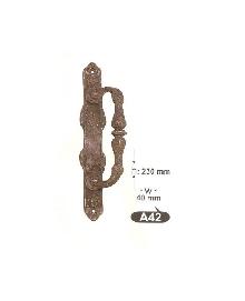 Дръжки за летящи и плъзгащи врати от месингА  42