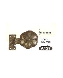 Топки за врати от месинг А  127