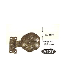 Топки за врати-месинг А127 РАЗПРОДАЖБА-50%