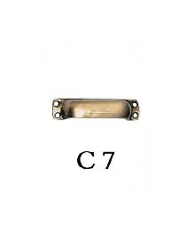 Дръжки за мебели от месинг C 7 РАЗПРОДАЖБА-50%