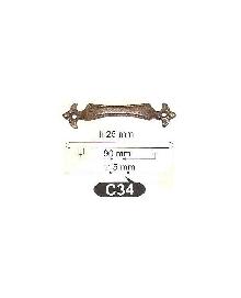 Мебелни дръжки-месингC34 РАЗПРОДАЖБА-50%
