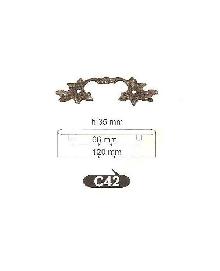 Мебелни дръжки от месинг C 42