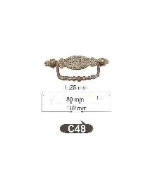 Дръжки за мебели от месинг C 48