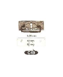 Мебелни дръжки от месинг C 49