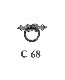 Мебелни дръжки месинг C68РАЗПРОДАЖБА-50%