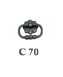 Дръжки за мебели от месинг C 70